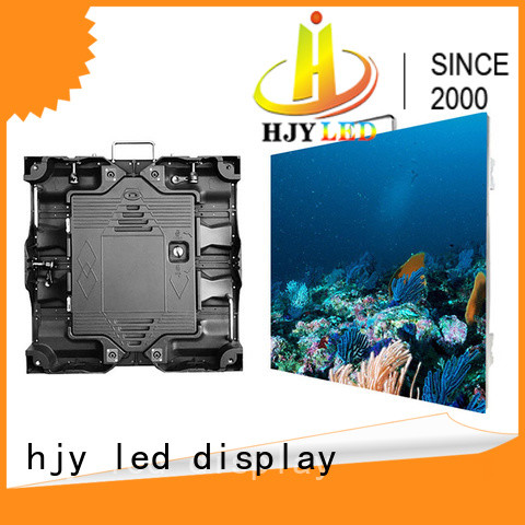 Haojingyuan screen led video wall indoor for sea port