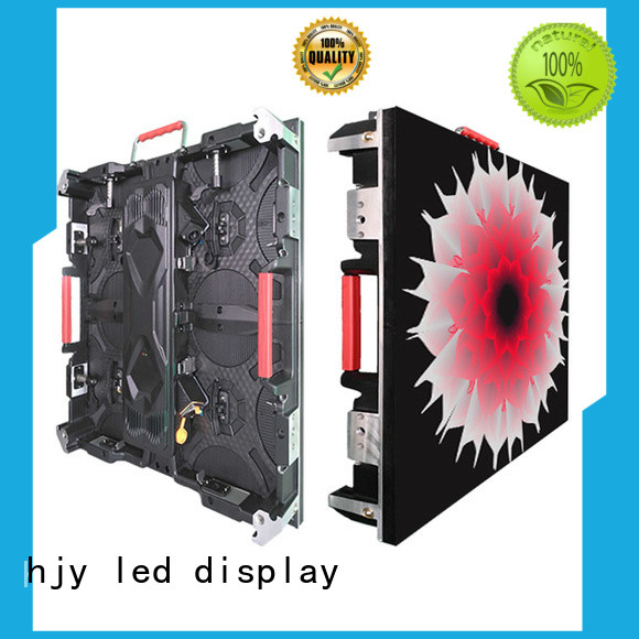 Haojingyuan designer high definition led display configuration for taxi