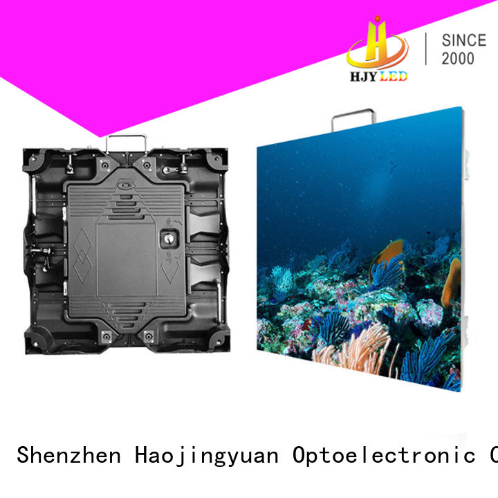 Haojingyuan good quality HD led display panel manufacturer for building