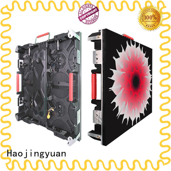 Haojingyuan stage high quality led screen company for sea port