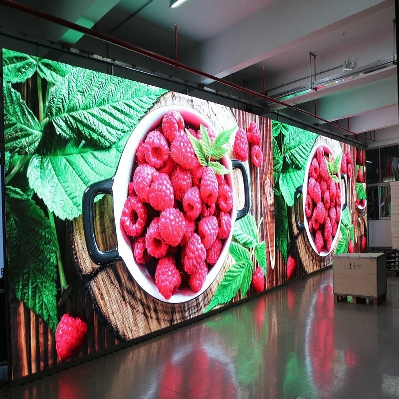 P6 outdoor full color led display panel/outdoor advertising led screen