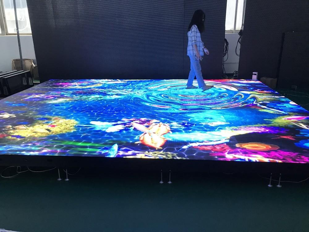 P5.95 outdoor dance floor IP65 waterproof led display panel