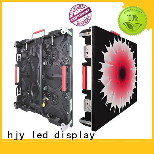 Haojingyuan display high definition led screens configuration for building