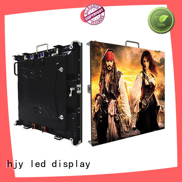 Haojingyuan screen high resolution led display factory for taxi