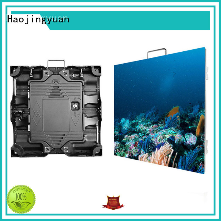 Haojingyuan video high resolution led display indoor for taxi