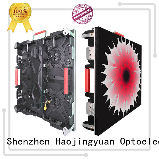 Haojingyuan wall high definition led display Suppliers for taxi