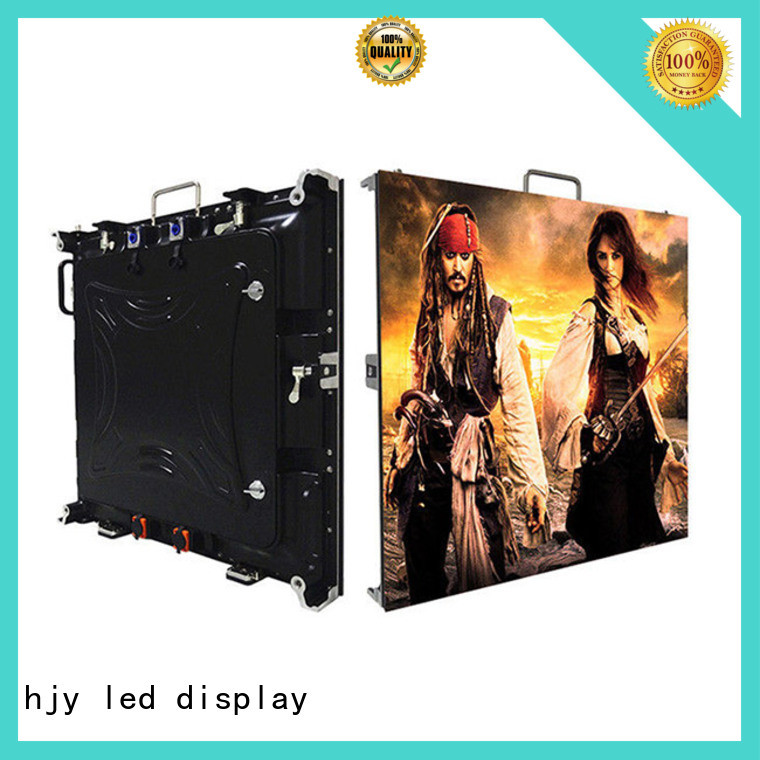 Haojingyuan display high resolution led display indoor for sea port