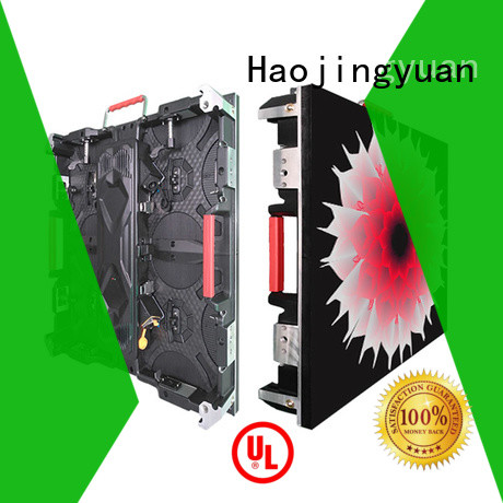Haojingyuan Top high definition led display for business for building
