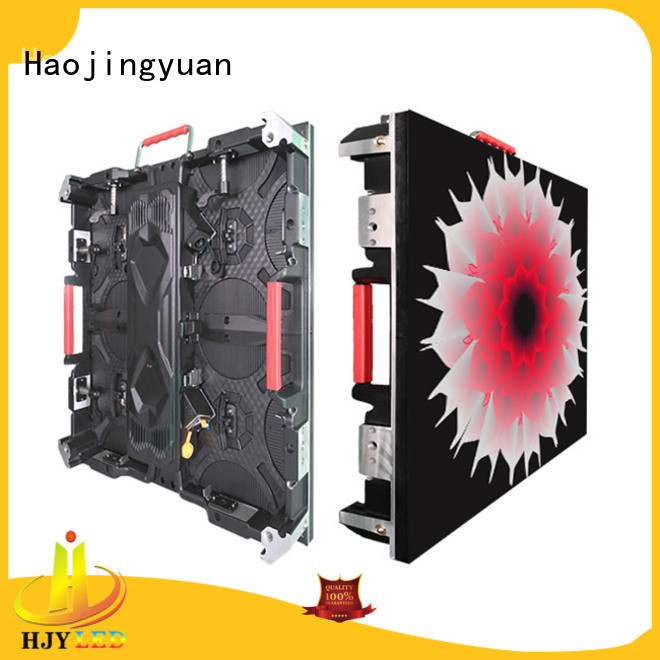 Haojingyuan led small pixel led display configuration for taxi