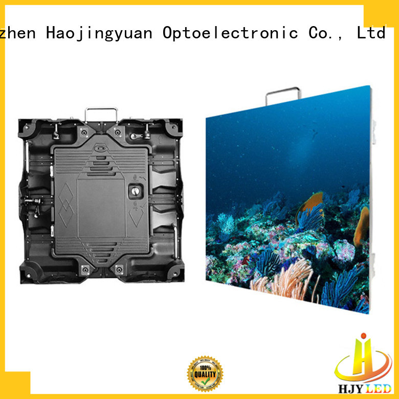 Haojingyuan designer high resolution led display configuration for taxi