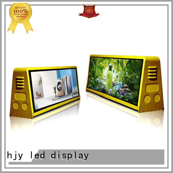 Haojingyuan p6 truck advertising mobile led display technology available for school
