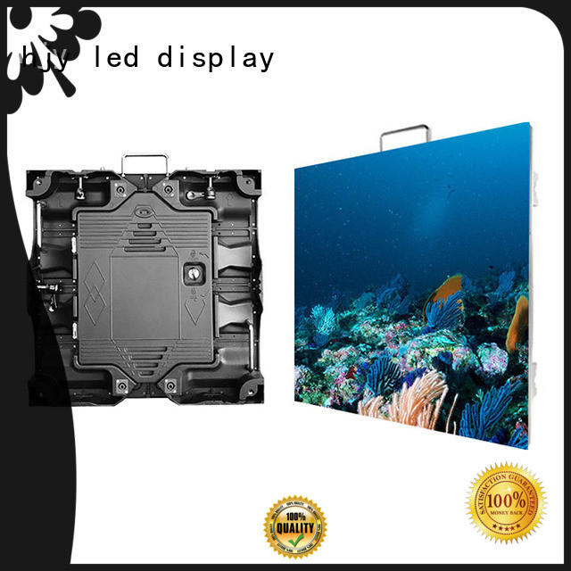 Haojingyuan indoor small pixel led display configuration for sea port