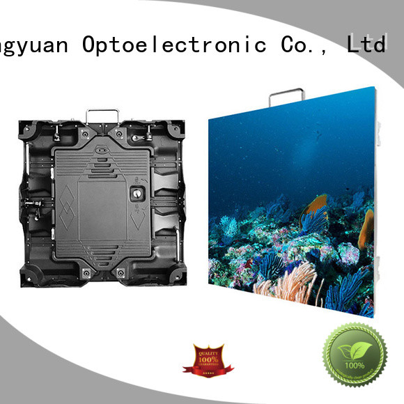 good quality small pixel led display wall indoor for sea port