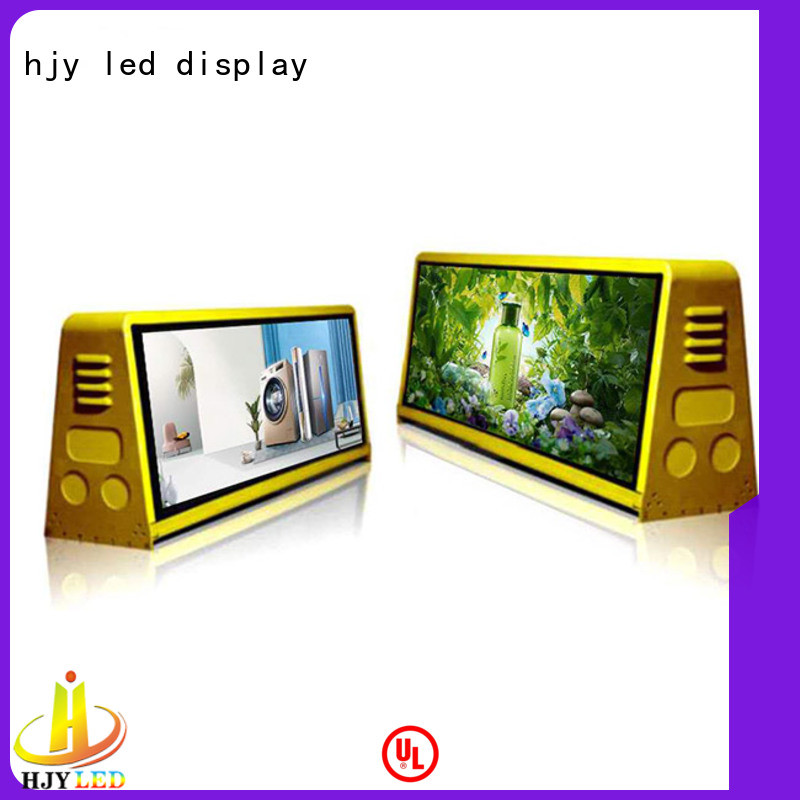 Haojingyuan p25 truck led display factory sale for for house