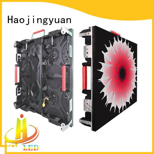 Haojingyuan designer P10 led display p2976 for sea port