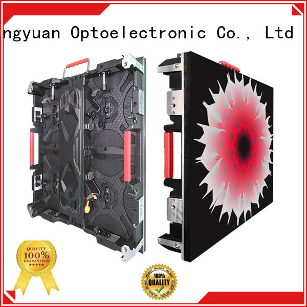 Haojingyuan backdrop high definition led display indoor for building