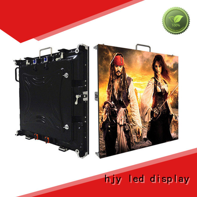 Haojingyuan different style small pixel led display manufacturer for building