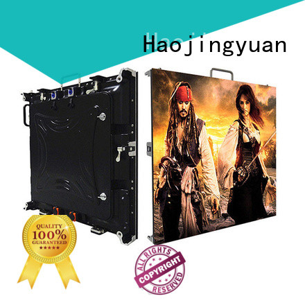 Haojingyuan Wholesale high quality led screen factory for building