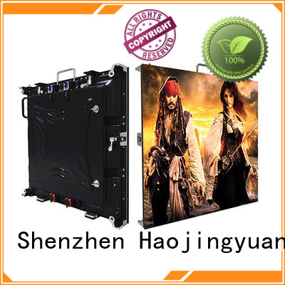 Haojingyuan elegant HD led display panel manufacturer for taxi
