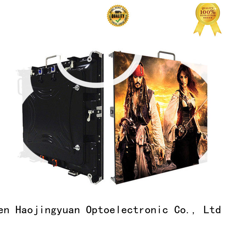 Haojingyuan Wholesale high resolution led display factory for building