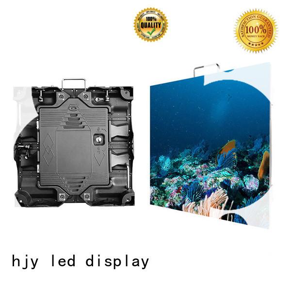 Haojingyuan designer small pixel led display configuration for sea port