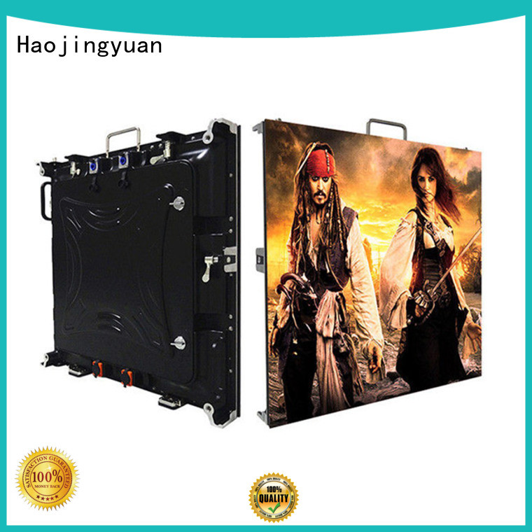 Haojingyuan designer high resolution led display indoor for building