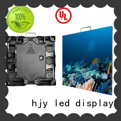 Haojingyuan video high resolution led display indoor for building