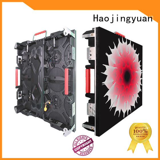 Haojingyuan Best high resolution led display Supply for sea port