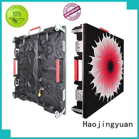 Haojingyuan Latest small pixel led display Suppliers for sea port