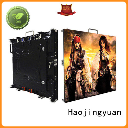 Haojingyuan different style small pixel led display manufacturer for sea port