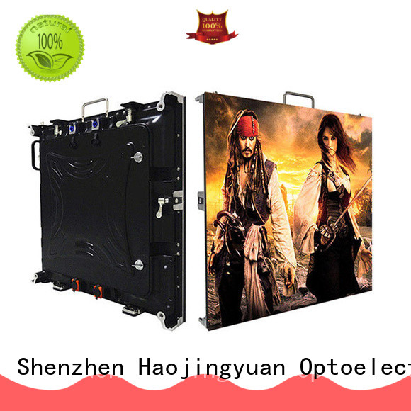 Haojingyuan New small pixel led display manufacturers for sea port