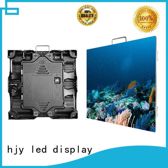Haojingyuan rental HD led display panel manufacturer for building