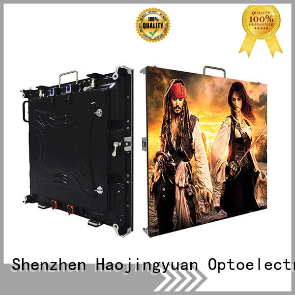 Haojingyuan New high definition led screens for business for building
