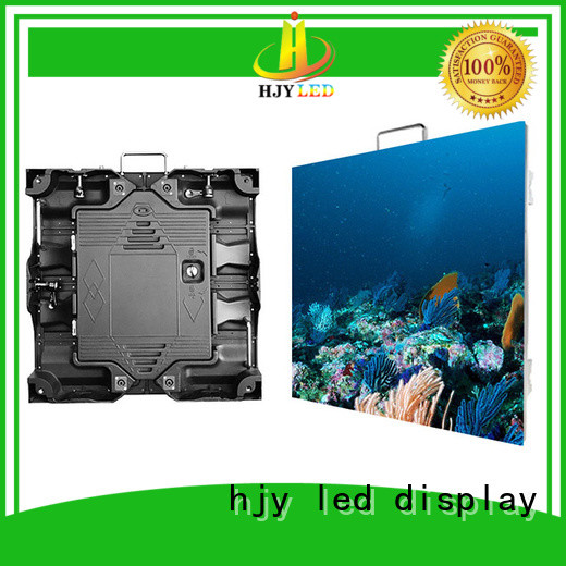 different style high definition led display stage configuration for building