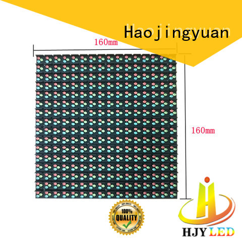 Haojingyuan High-quality advertising led display fixed for business for school