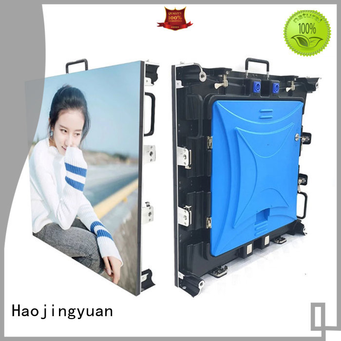 Haojingyuan display led stage backdrop screen directly sale for concert