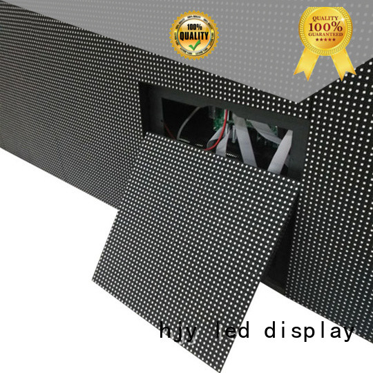 Haojingyuan sale led road display Suppliers for lobby