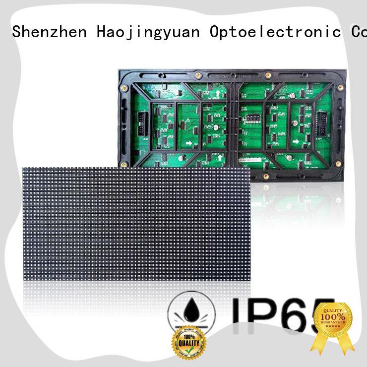 Haojingyuan professional led display module technology for wall
