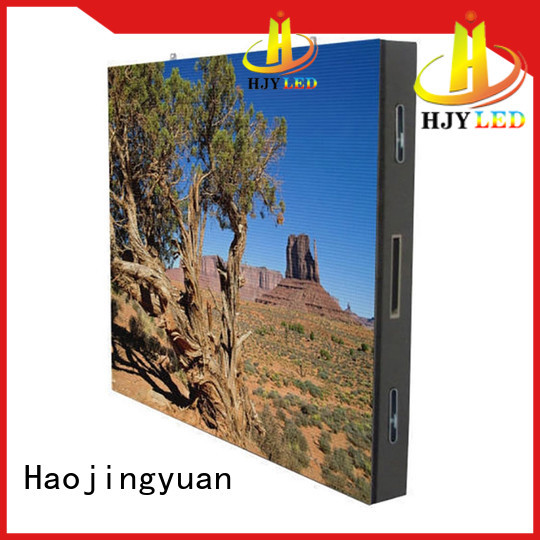 Haojingyuan Best outdoor led display manufacturers for hotels