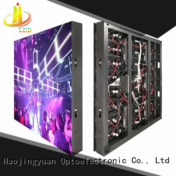 modern display LED fixed promotion for hotels Haojingyuan