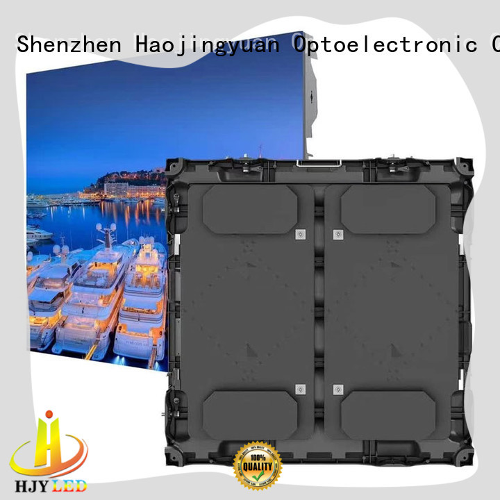 Haojingyuan stable football stadium led display various size for football stadium