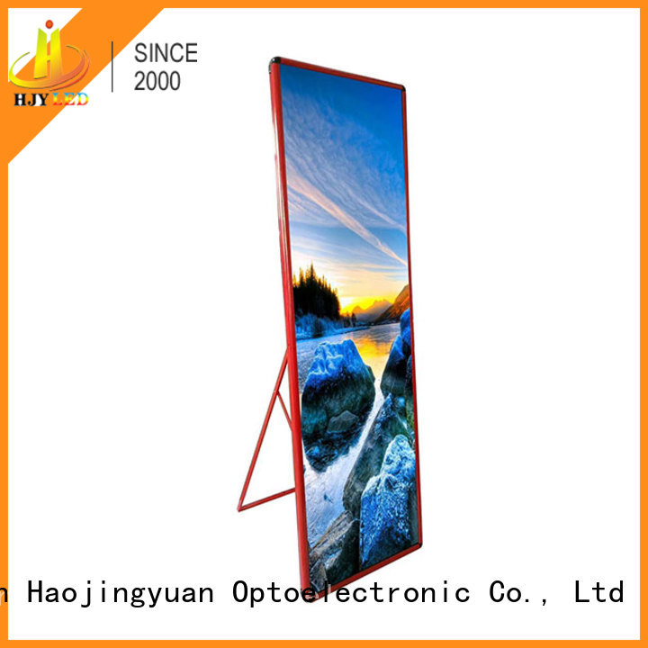 different style Mirror led display poster lightweightfor air port