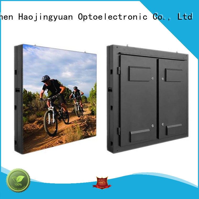 Haojingyuan module fixed led display theme parks for hotels