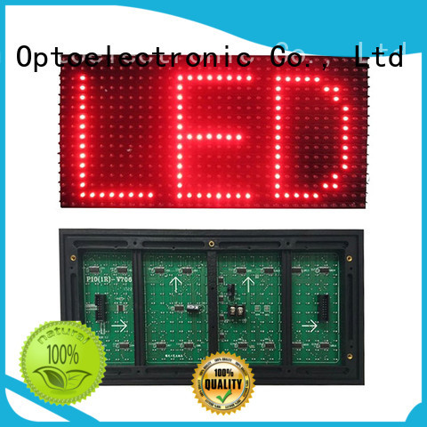 Haojingyuan display dip led module series for street