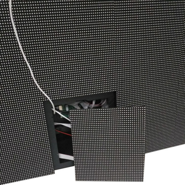 Outdoor led display board front service strong waterproof P8 led display