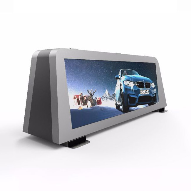 Haojingyuan top taxi led display company for wedding-1