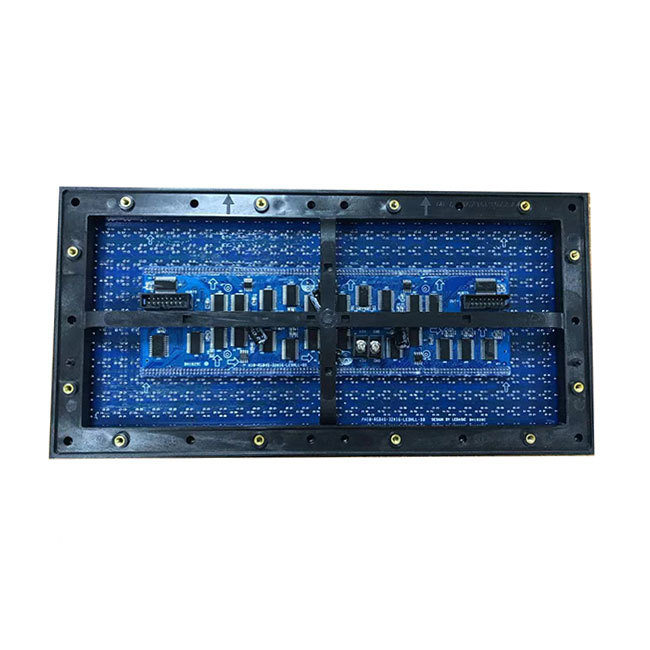 320x160mm P10 outdoor DIP led display module