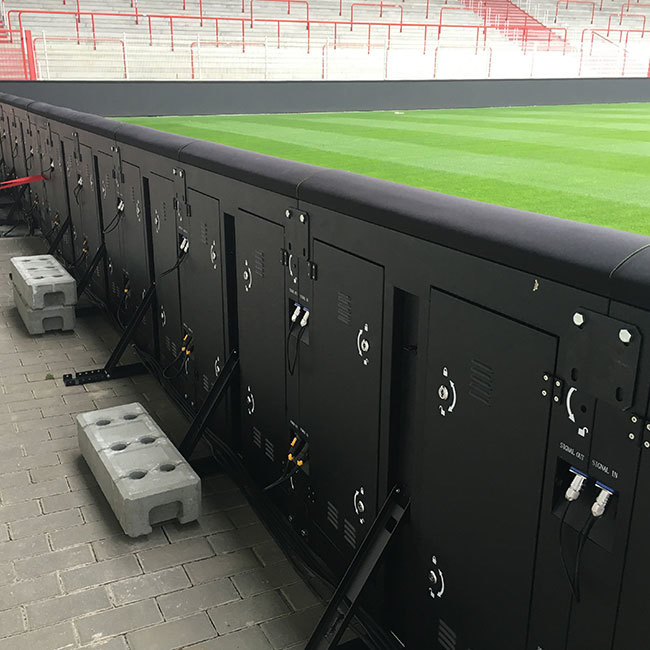 Football P10 outdoor stadium led display