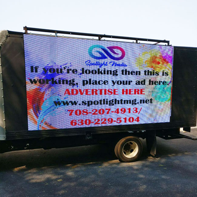 Wholesale truck led display Supply for birthday party-1