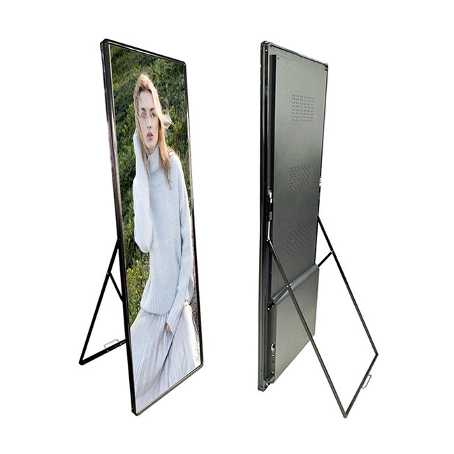 Haojingyuan Custom poster led display for business for air port-2